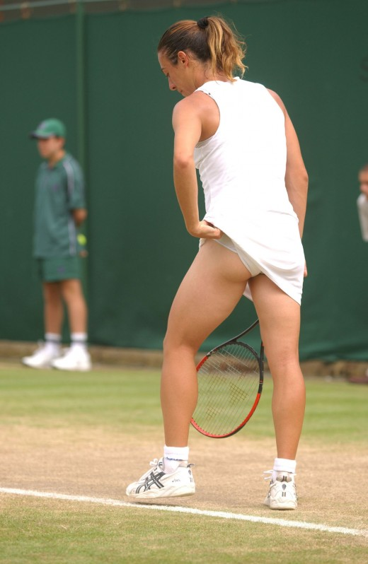 Shove tennis ball in ass excellent