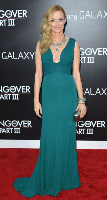 The Best Dressed this Weekend Heather Graham