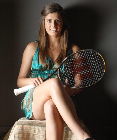 Sorana Cirstea Hot Legs Pic