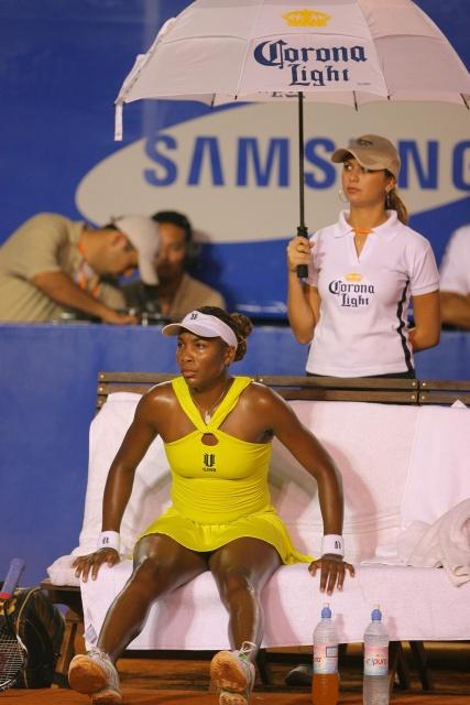 Venus Williams hot legs still