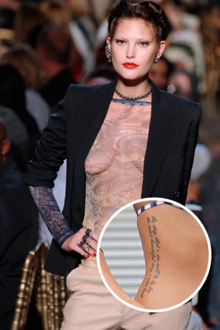 Cara Delevingne Tattoos Image