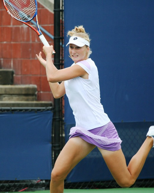 Ekaterina Makarova Hot Skirt Photo