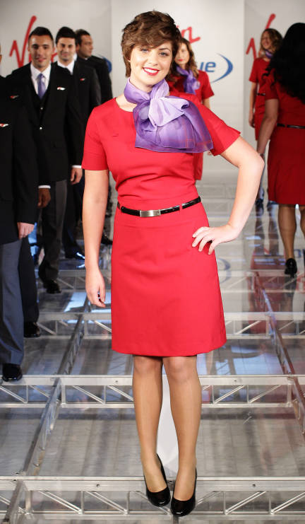 Fashionable Red Uniforms Still