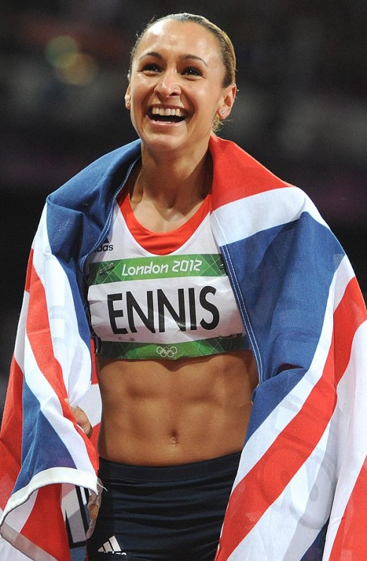 Olympic Star Jessica Ennis Photo