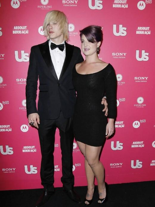 Kelly Osbourne with Boyfrient Photograph