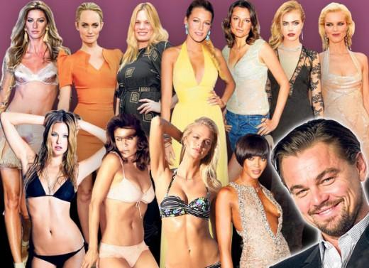 Leonardo DiCaprio Ex-girlfriends Photo