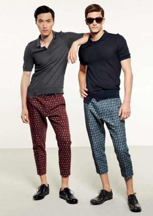 Fashion Trends Men Pants Spring Summer 2013