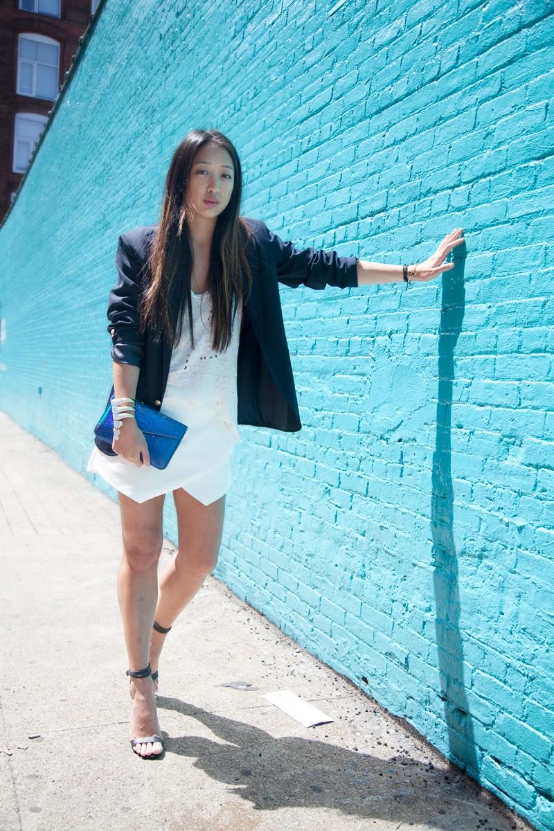 Street Style Hitting Sporty-Spice Look Snapshot