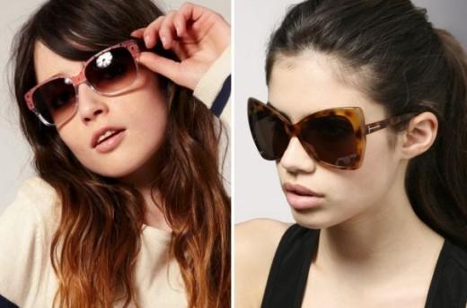 Women Summer Sunglasses Collection 2013 Photograph