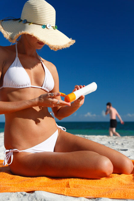 Summer Skin Care Wallpaper