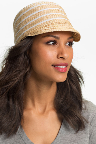 Women Summer Beautiful Model Hat Image