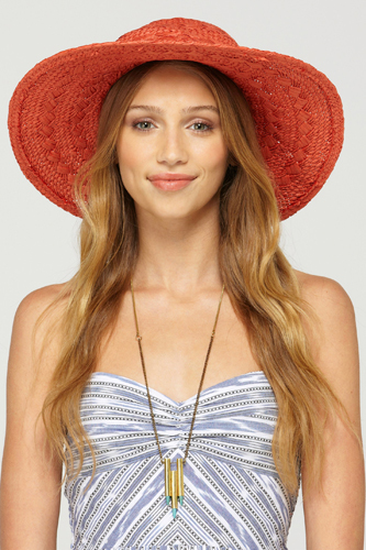 Beautiful Women Summer Hat Photo