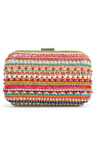 12 Embroidered Pieces Collection 2013 Stylish Bag Image