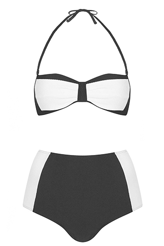12 Rad Bandeau Bathing Suits to hit the Beach Snap