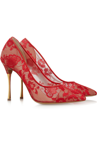 12 Sexy Pairs of Beautiful Red Shoes Still Image