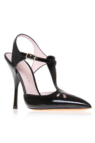 12 Sexy Pairs of Beautiful Black Shoes Photo