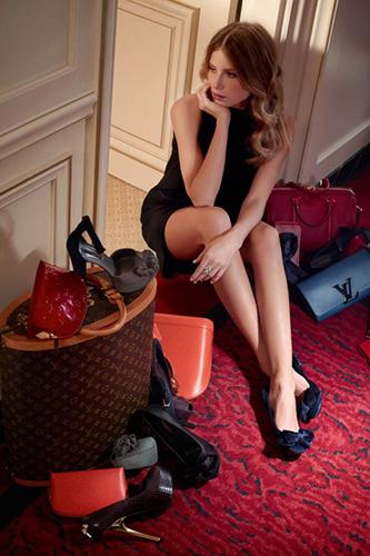 Dree Hemingway Lauches Louis Vuitton Dresses 2013 Image