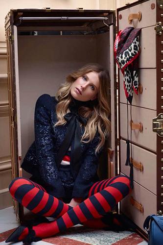 Dree Hemingway Lauches Louis Vuitton Dresses 2013 Pic