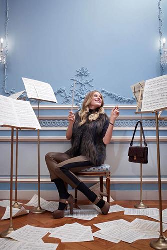 Dree Hemingway Lauches Louis Vuitton Dresses 2013 Still