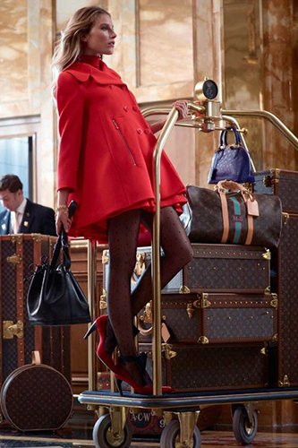 Dree Hemingway Lauches Louis Vuitton Dresses 2013 Photo