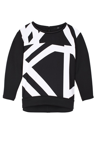 Pre Fall of Tibi Collection 2013 Transit Structured Sweatshirt Image