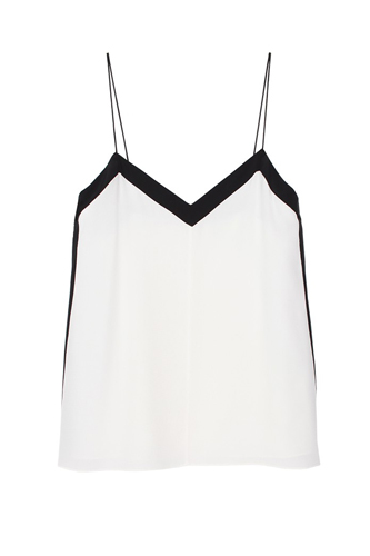 Pre Fall of Tibi Collection 2013 Coor Block Silk Cami Image
