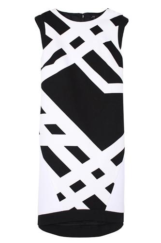 Pre Fall of Tibi Collection 2013 Transit Sleeveless Dress Pic
