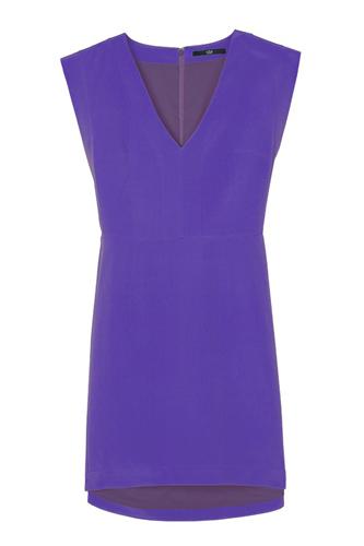 Pre Fall of Tibi Collection 2013 V-Neck Panel Dress SnapShot