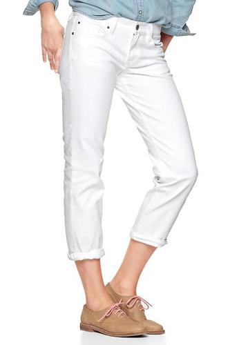 Women Summer 9 Beautiful White Jeans Photo