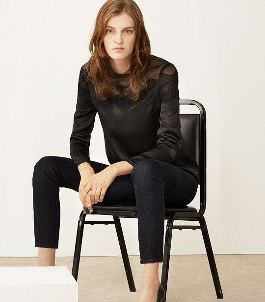Women Tory Burch Jeans Collection 2013 Still