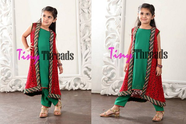 Eid Collection by Tiny Threads Beautiful Dress Photo