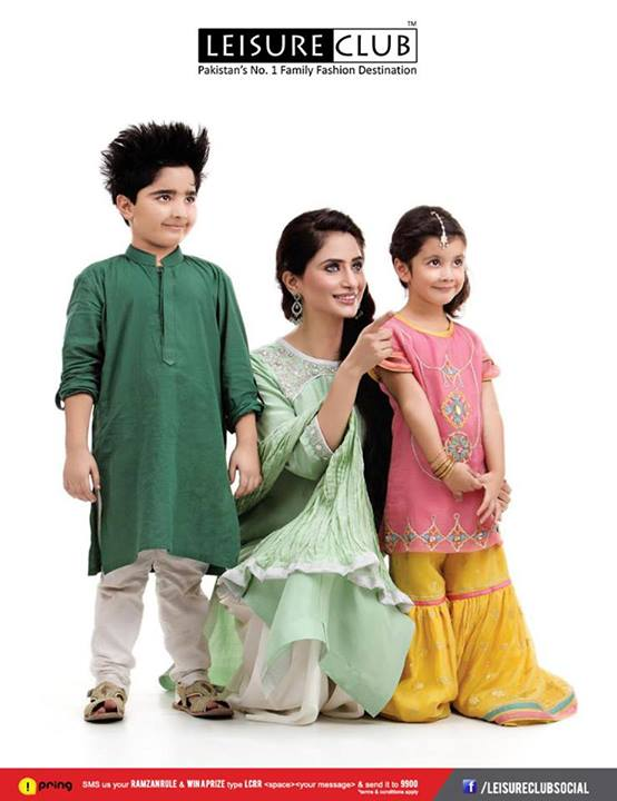 Men Women and Kids Leisure Eid Collection 2013