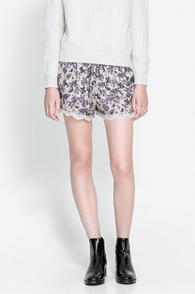 1 Lace Shorts to Amp up Any Outfit