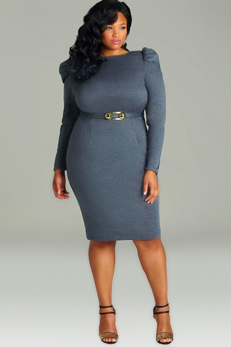 Hot & Perfect Trends for Curvy Girls Beautiful Dress