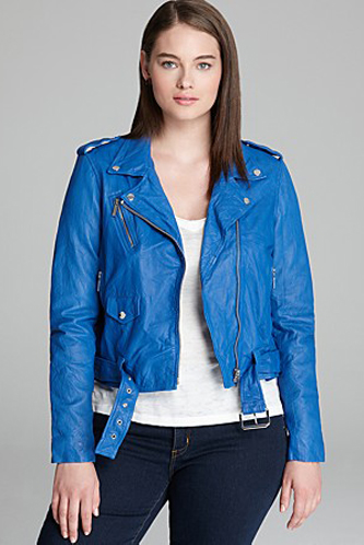 Hot & Perfect Trends for Curvy Girls Short Jacket