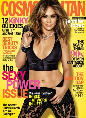 J.Lo Covers Cosmo photo