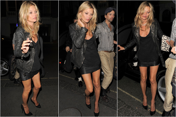 Kate Moss Hottest Skirt Photo