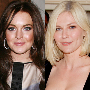 Kirsten Dunst and Lindsay Lohan Photo