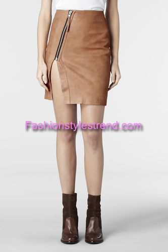 Colorful Leather Pretty Skirts
