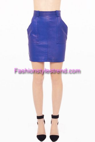 Leather Skirts Collection 2013