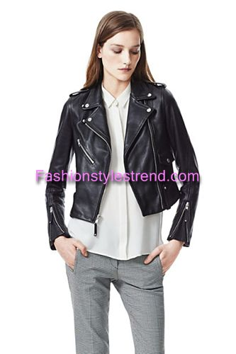 Leather jacket New Trend