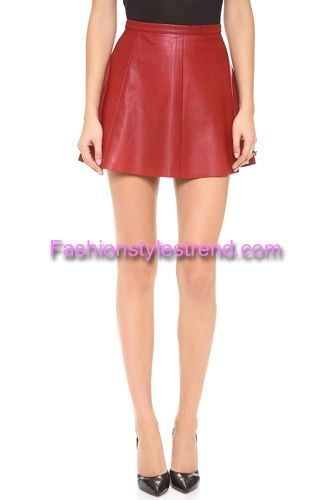 Pretty Leather Skirts Collection