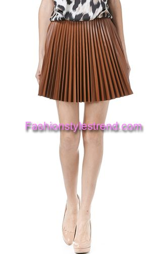 Leather Skirts Fashion