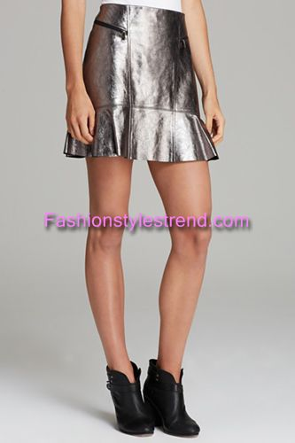 Leather Skirts Fashion Styles