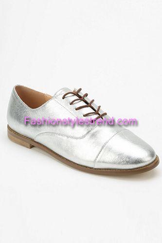 Metallic Oxford Marais Shoes