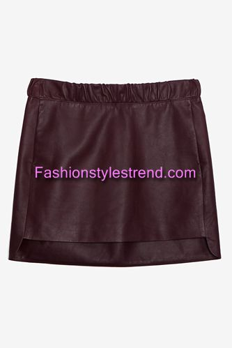 Leather Skirts Fashion Trends
