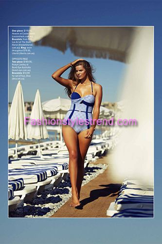 Robyn Lawley Swim Shoot Picture