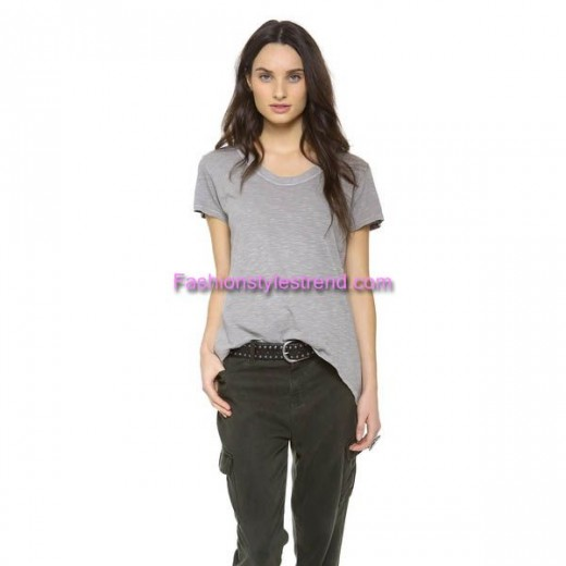 Tee With Jeans Styles For Women