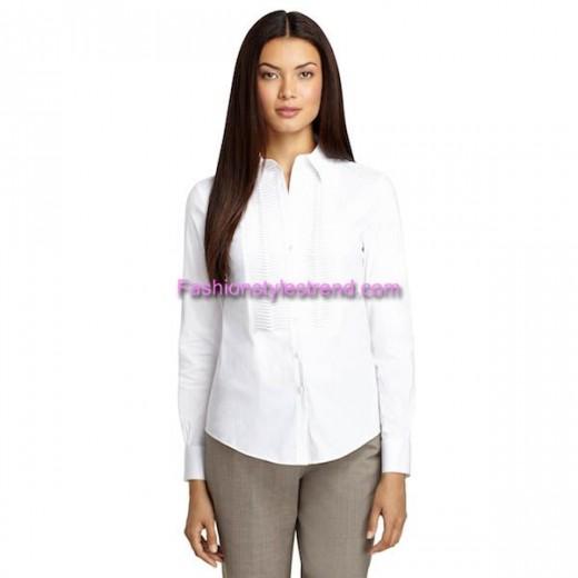 Tux Shirt For Women