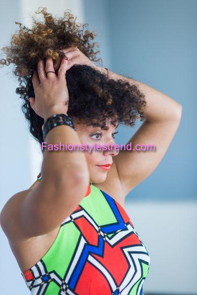 Melissa Burgos Hair Style